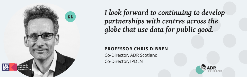 Chris Dibben Co-Director of IPDLN